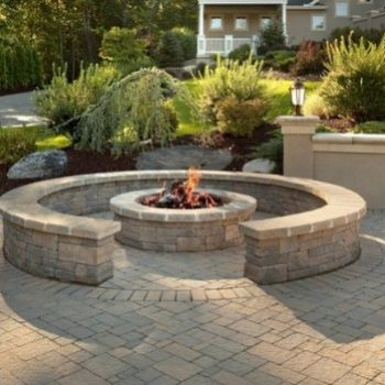 patio and fire pit pavers pro edge lawn care llc